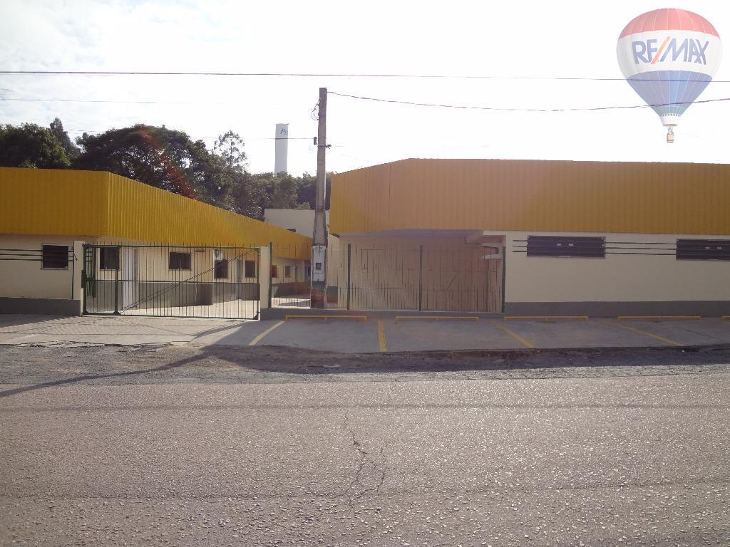 Galpão industrial para locação, Traviú, Jundiaí.