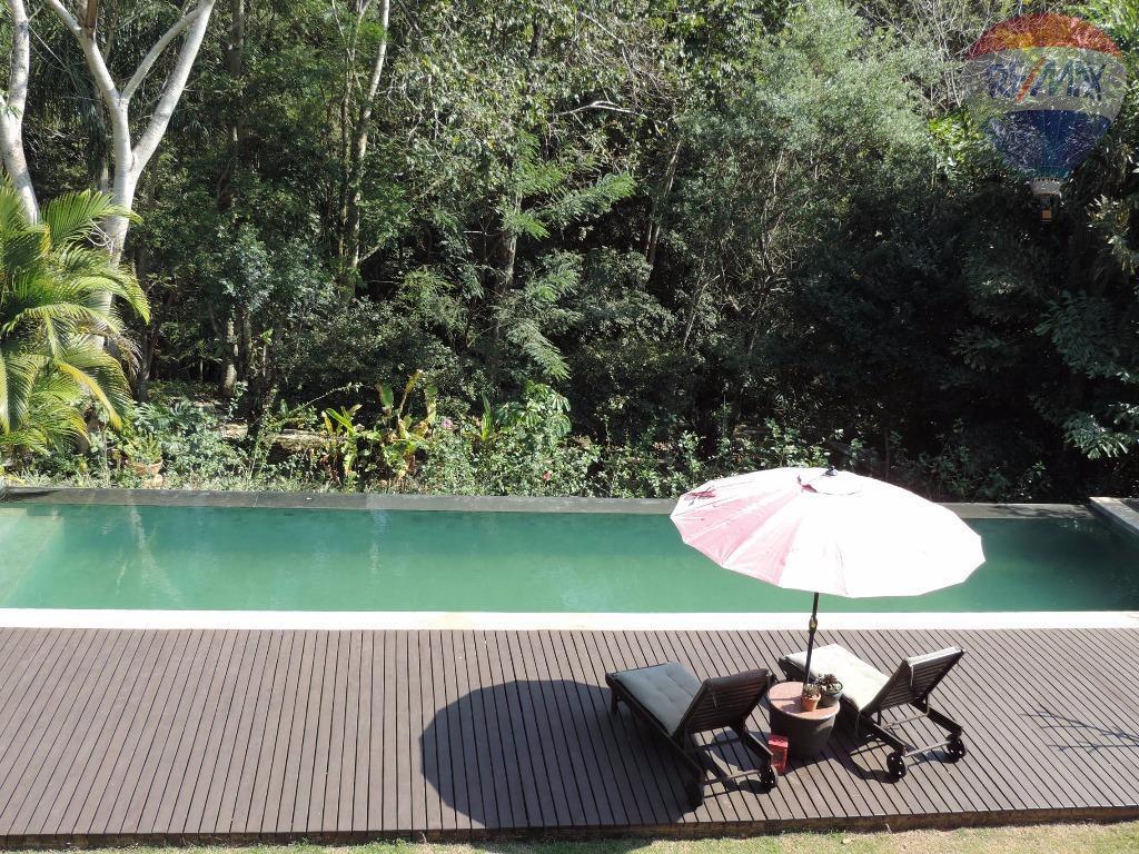 Casa residencial à venda, Condomínio Clube de Campos Valinhos, Valinhos.
