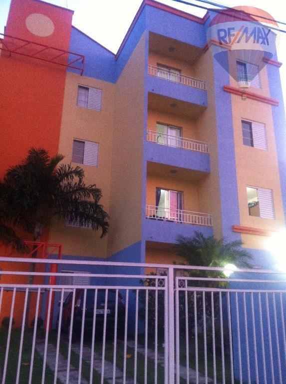 Apartamento residencial para locação, Jardim Pacaembu, Valinhos.