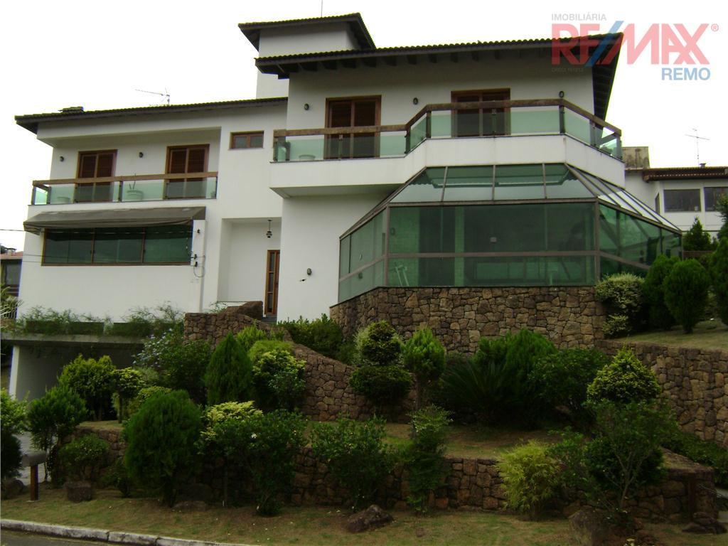 Casa residencial para venda e locação, Condomínio Marambaia, Vinhedo - CA1106.