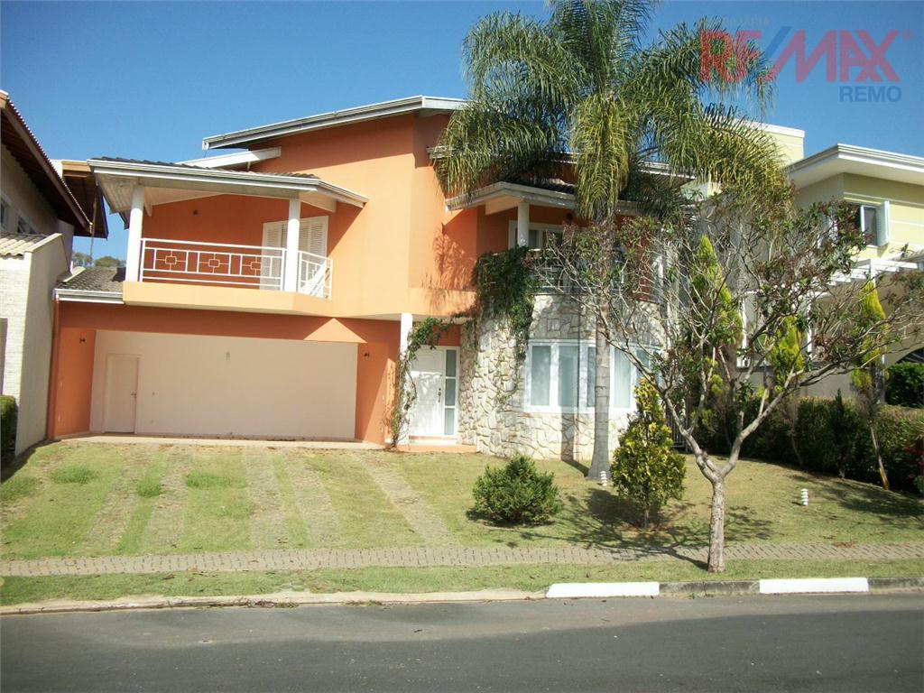 Sobrado Residencial para locação, Condomínio Reserva Colonial, Valinhos - CA1672.