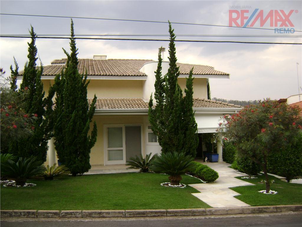 Sobrado Residencial à venda, Condomínio Estância Marambaia, Vinhedo - CA1551.