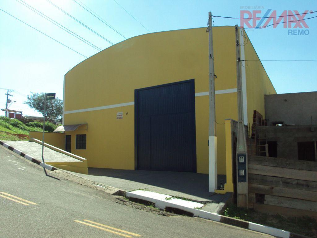Galpão comercial para locação, Vila Nova Louveira, Louveira - GA0131.