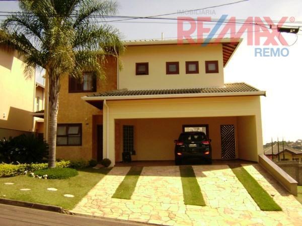 Casa residencial à venda, Condomínio Villagio di Verona, Vinhedo - CA2467.