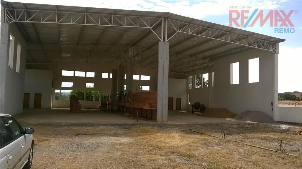 Galpão  comercial para locação, Bairro Vista Alegre, Vinhedo.