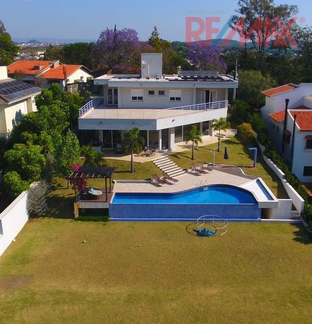 Casa residencial à venda, Condomínio São Joaquim, Vinhedo - CA4734.