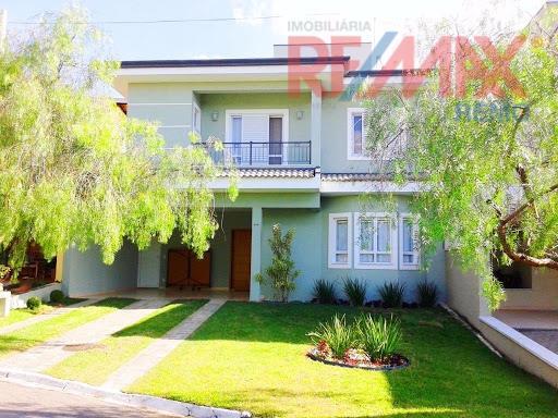 Casa residencial à venda, Condomínio Vila di Treviso, Vinhedo - CA4805.