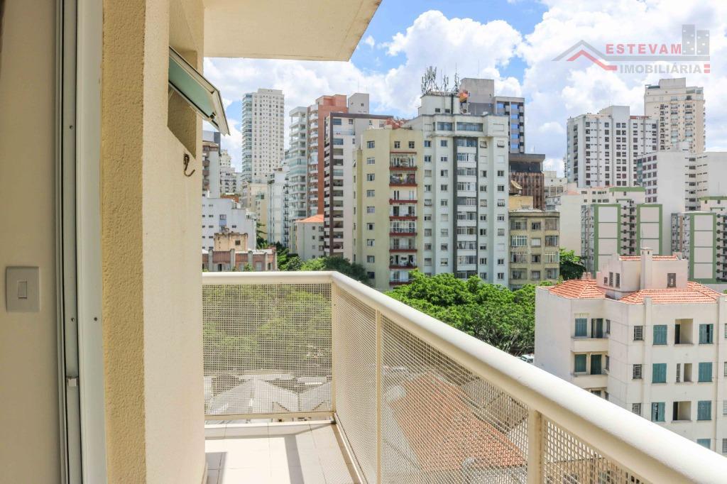 Apartamento com 1 dormitório à venda, 34 m² por R$ 380.000 - Santa Cecília - São Paulo/SP