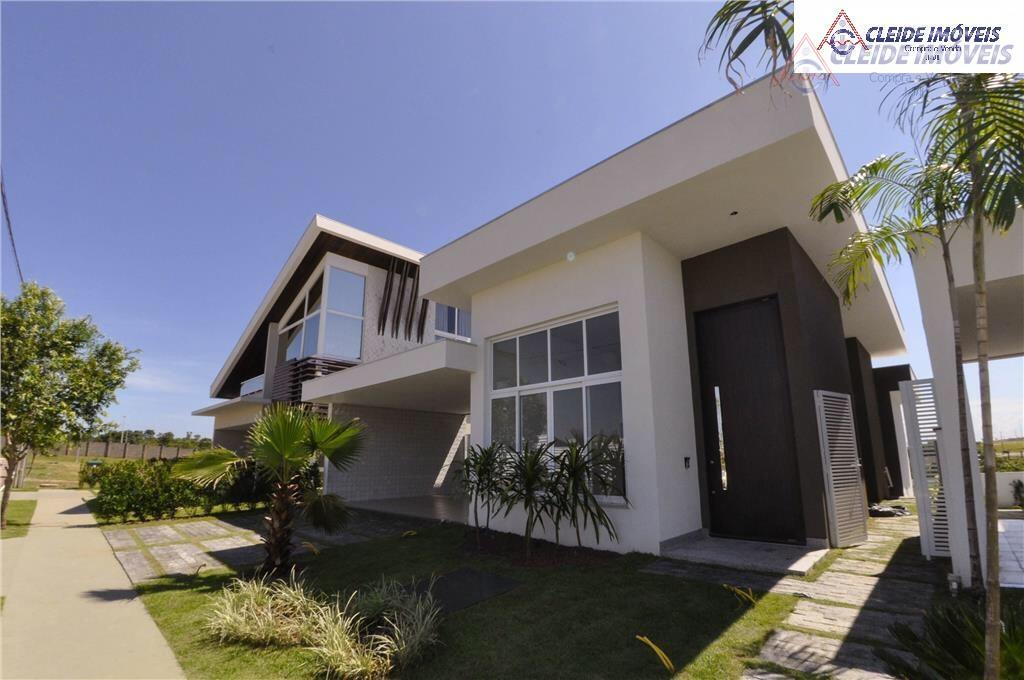 Casa residencial à venda, Condomínio Residencial Florais dos Lagos, Cuiabá - CA0023.