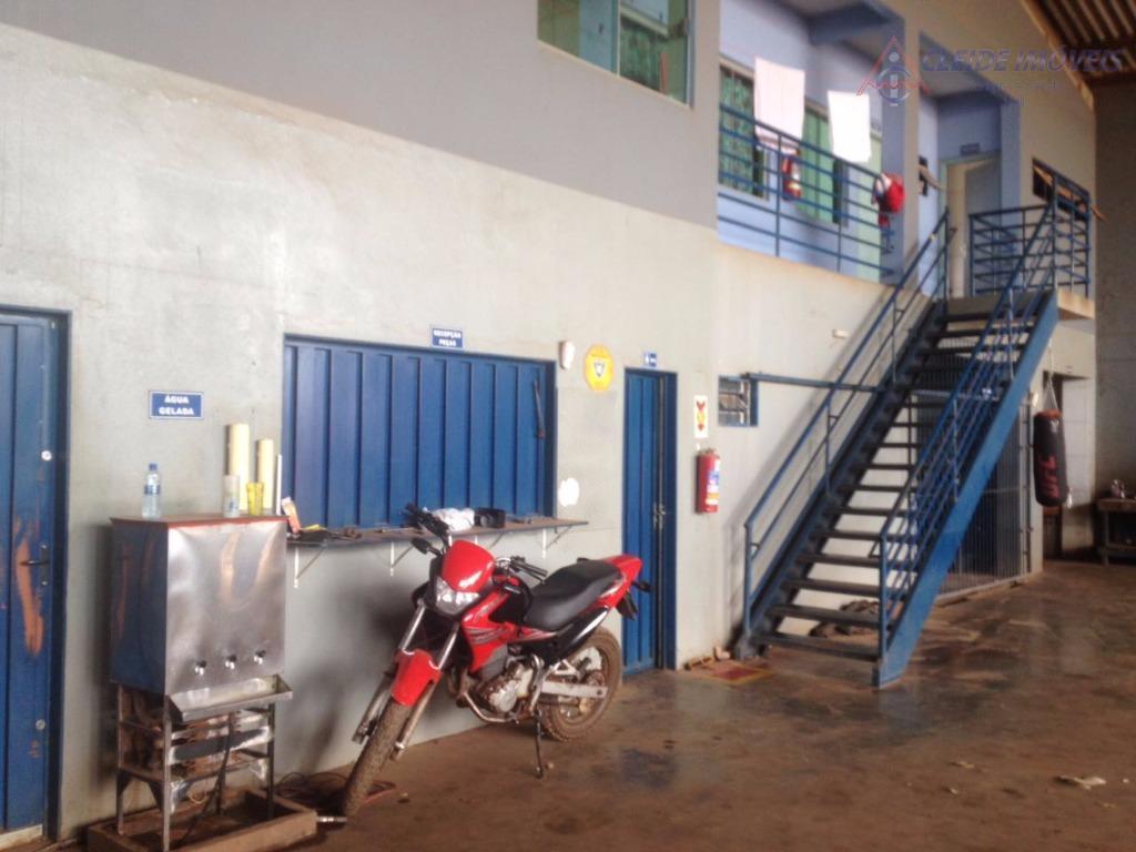 Barracão comercial para venda e locação, Rua Vicinal a BR-364, Pascoal Ramos, Distrito Industrial, Cuiabá - BA0034.