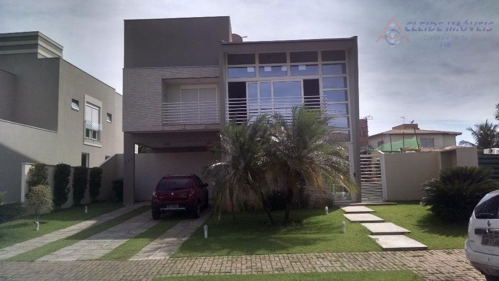 Sobrado / Casa residencial à venda, Alphaville Cuiabá, Jardim Itália, Cuiabá-MT