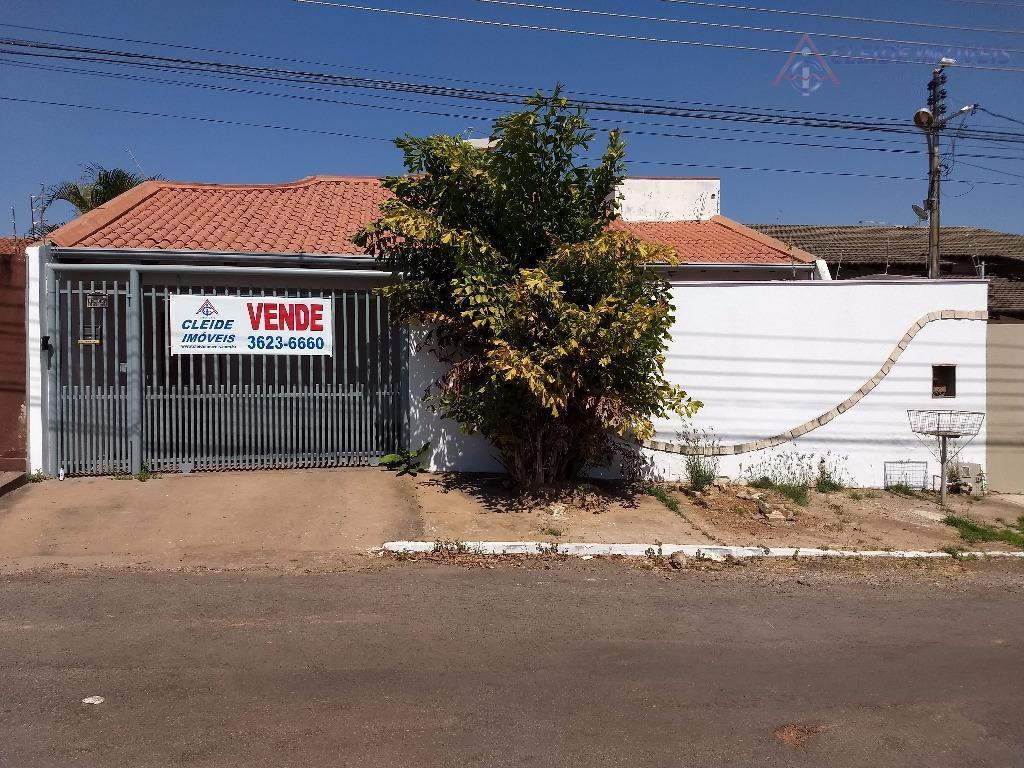 Casa residencial para venda, Santa Cruz II, Cuiabá - CA0264.
