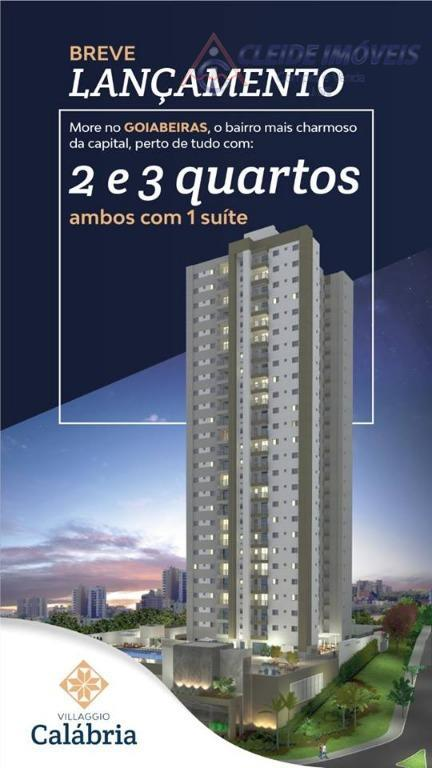 Apartamento residencial à venda, Villaggio Calábria, Popular, Cuiabá.