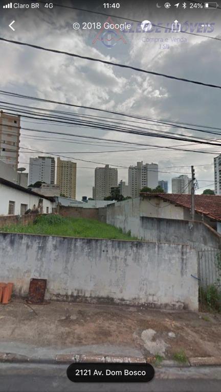 Terreno residencial à venda, Centro Sul, Cuiabá.