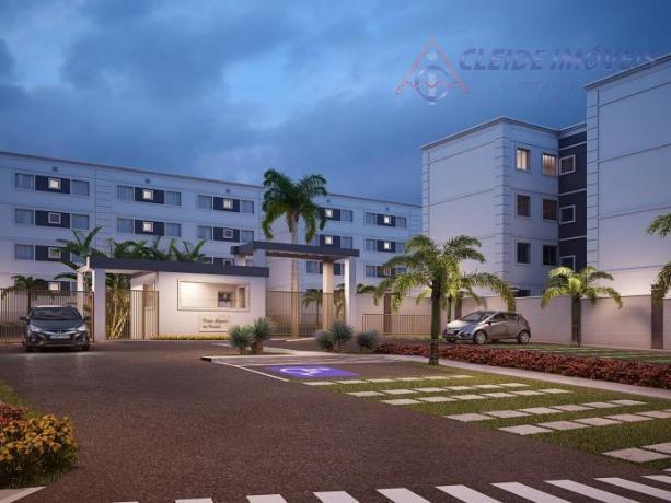Excelente apartamento residencial à venda, Cond Res Parque Chapada dos Pampas, Bairro Chácara dos Pinheiros, Cuiabá.
