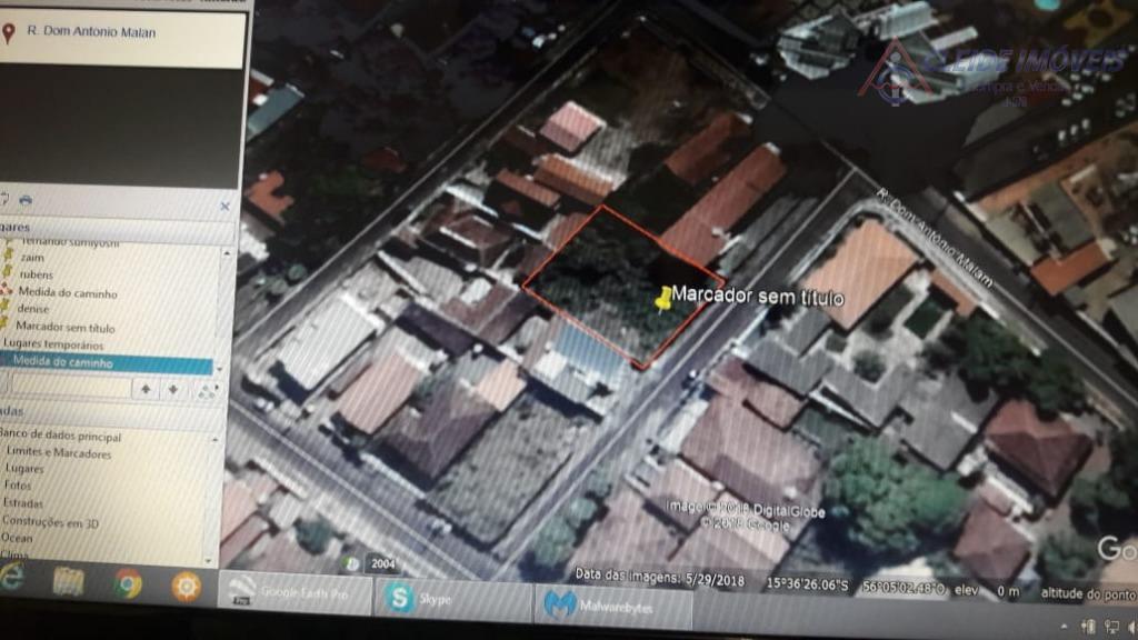 Terreno à venda próximo a Av. Fernando Corrêa da Costa.- Cuiabá.