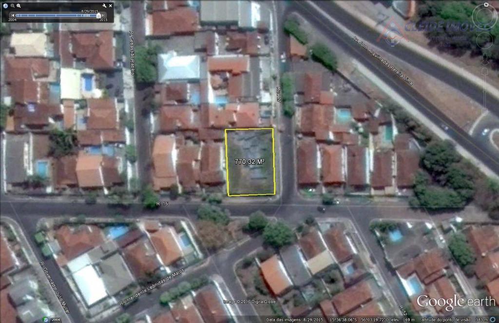 Terreno à venda, 770 m² por R$ 390.000 - Boa Esperança - Cuiabá/MT