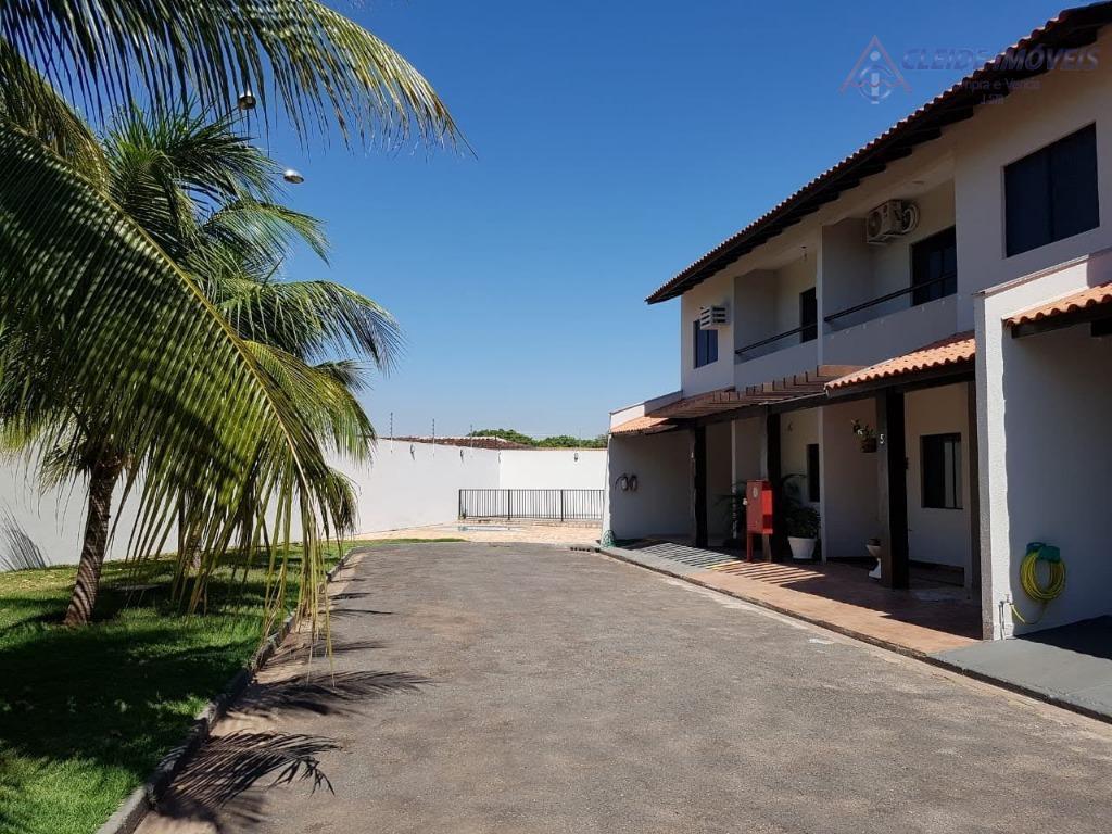 Sobrado em condomínio fechado, com 3 dormitórios à venda, 132 m² por R$ 370.000 - Coophema - Cuiabá/MT