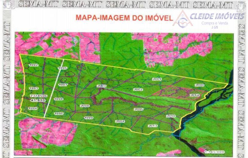 Fazenda rural à venda, CPA II, Cuiabá.