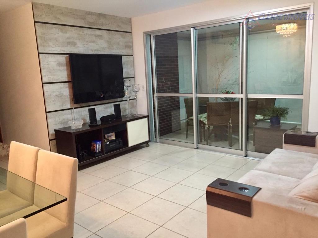 Apartamento com 3 dormitórios à venda, 106 m² por R$ 580.000 - Jardim Kennedy - Cuiabá/MT