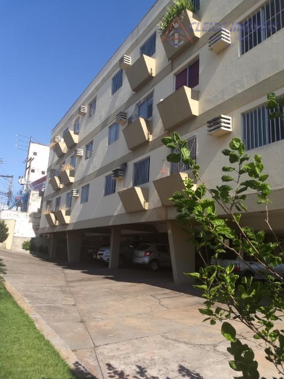 Apartamento com 2 dormitórios para alugar, 55 m² por R$ 1.000/mês - Quilombo - Cuiabá/MT