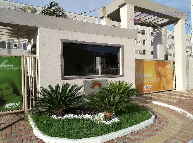 Apartamento com 2 dormitórios para alugar, 46 m² por R$ 1.050/mês - Chácara dos Pinheiros - Cuiabá/MT
