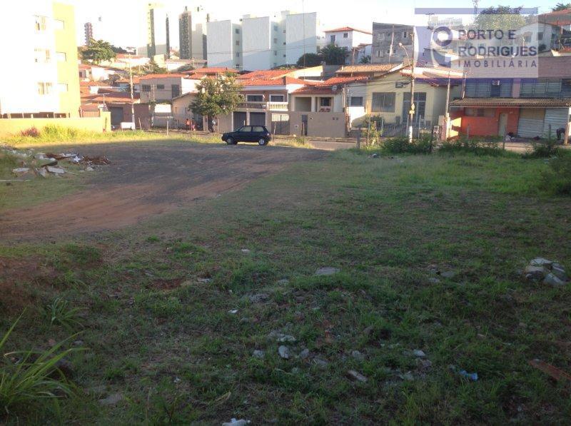 Terreno residencial à venda, Vila Industrial, Campinas.