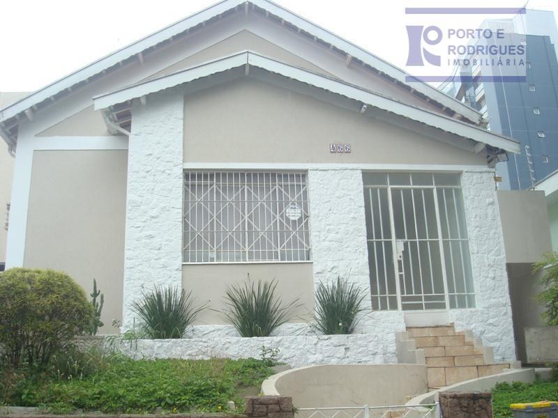 Casa comercial para locação, Vila Itapura, Campinas - CA0268.