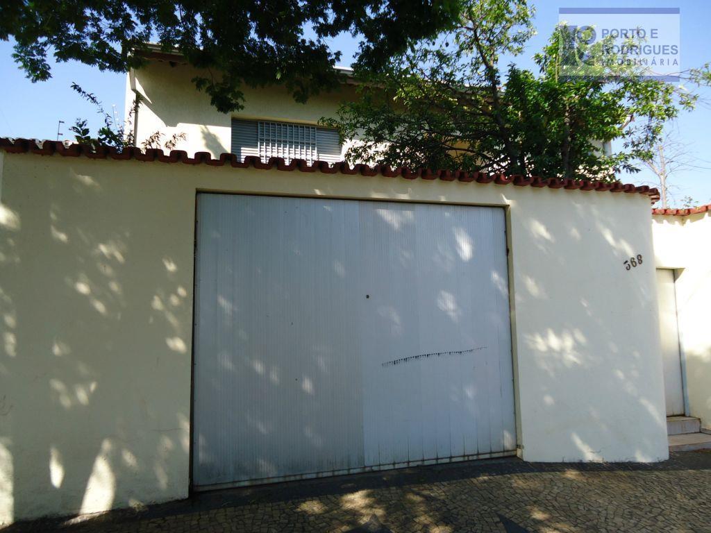 Casa  comercial para locação, Jardim Flamboyant, Campinas.