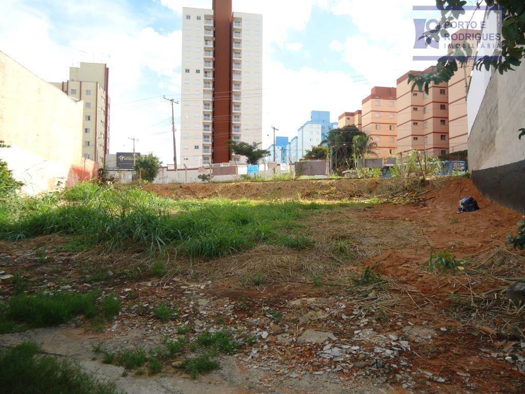 Terreno residencial à venda, Jardim Paulicéia, Campinas.