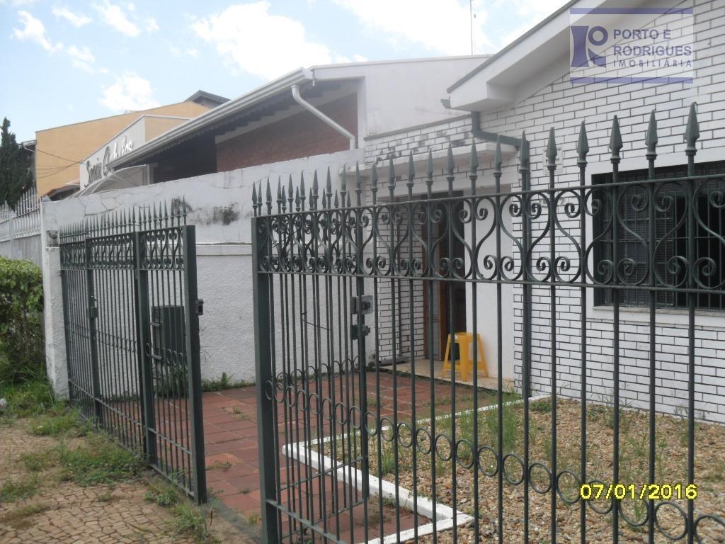 Casa comercial à venda, Parque Taquaral, Campinas - CA0494.