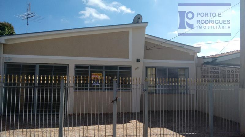 Casa residencial para venda e locação, Vila Anhangüera, Campinas.