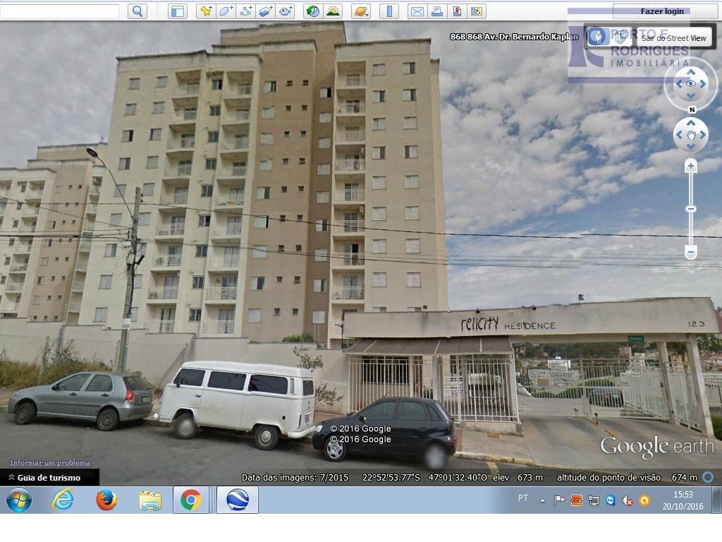 Apartamento residencial para locação, Parque Brasília, Campinas.