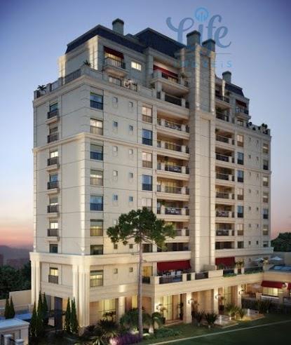 Apartamento residencial à venda, Batel, Curitiba - AP0023.