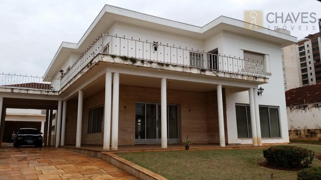 Casa residencial para locação, Jardim Sumaré, Ribeirão Preto.