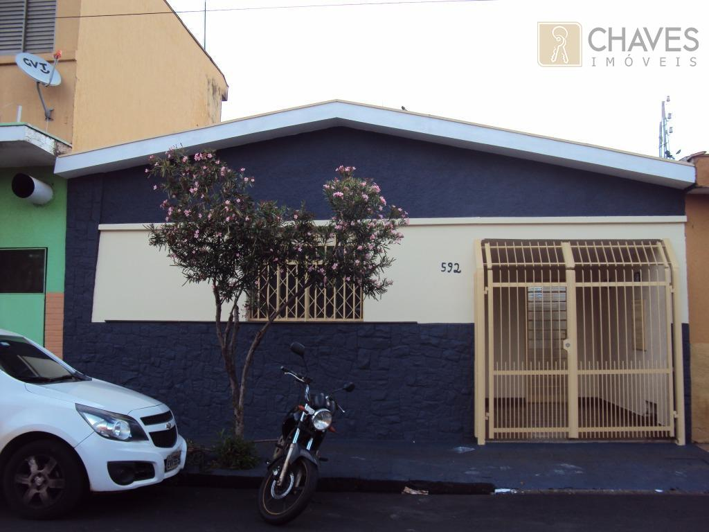 Casa residencial para locação, Campos Elíseos, Ribeirão Preto.