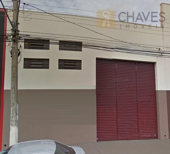 Galpão comercial para locação, Campos Elíseos, Ribeirão Preto.