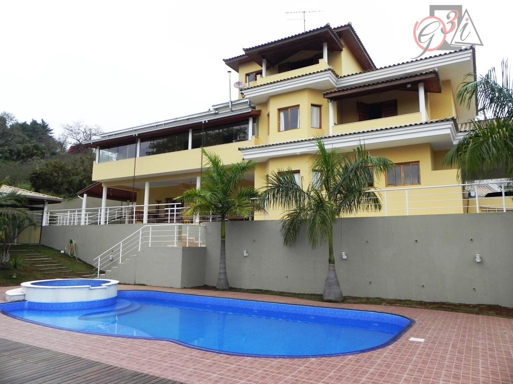 Casa residencial à venda, Chácara Santa Lúcia, Carapicuíba - CA0282.