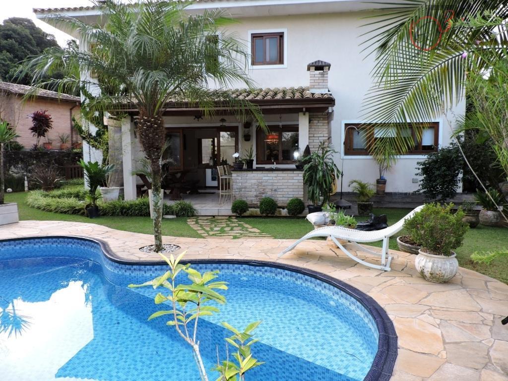 Casa residencial à venda, Pousada dos Bandeirantes, Carapicuíba - CA4402.