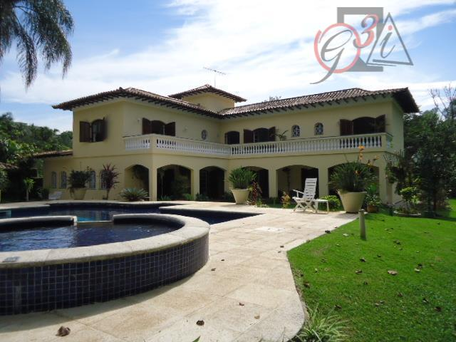 Casa residencial para venda e locação, Chácara Eliana, Cotia - CA4248.