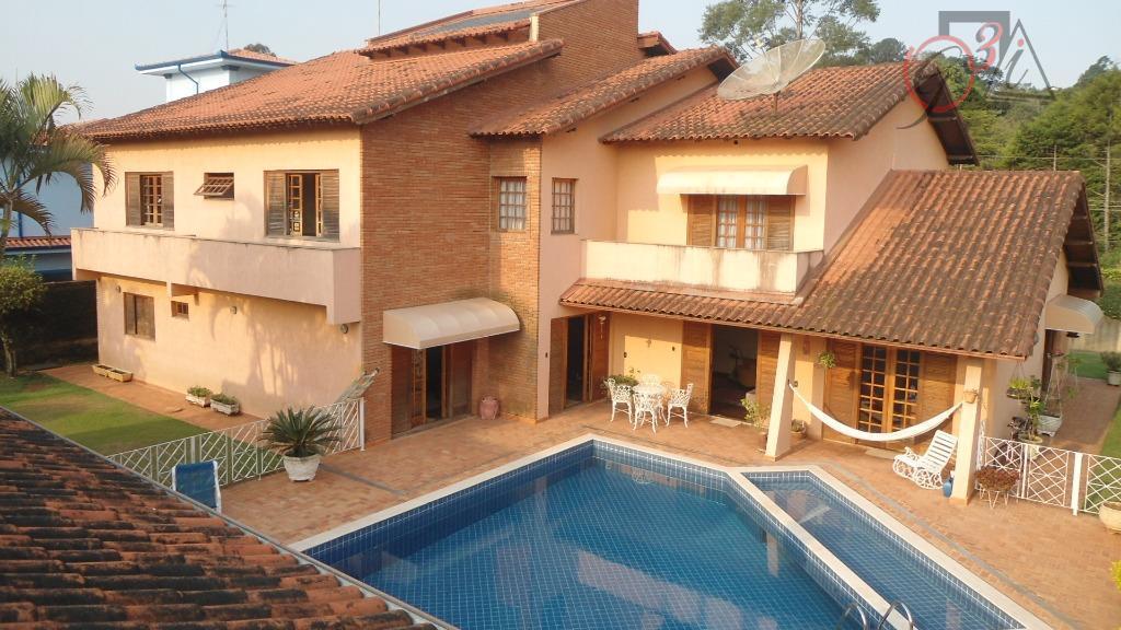 Casa residencial à venda, Chácara Vale do Rio Cotia, Carapicuíba - CA5334.