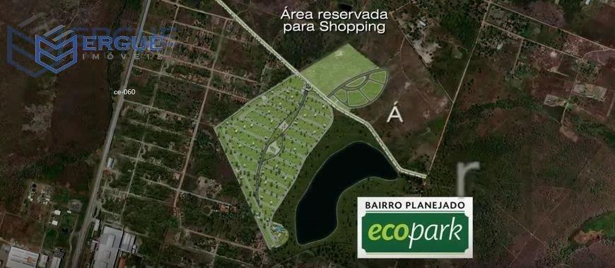 Terreno  residencial à venda, eco park Centro, Pacatuba.