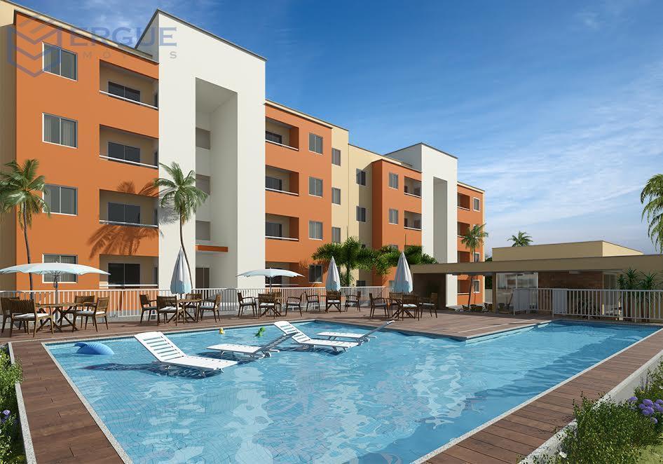 apartamentos de 2 quartos com suíte à 3 km do centro de Caucaia!