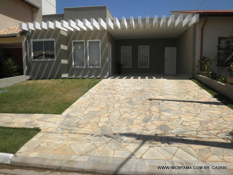 Casa residencial à venda, Condomínio Campos do Conde, Paulínia - CA0590.