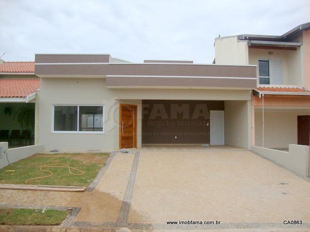 Casa residencial à venda, Condomínio Campos do Conde, Paulínia - CA0863.