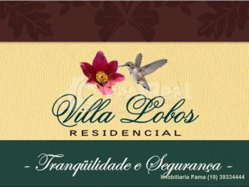 Terreno residencial à venda, Condomínio Villa Lobos, Paulínia - TE0275.