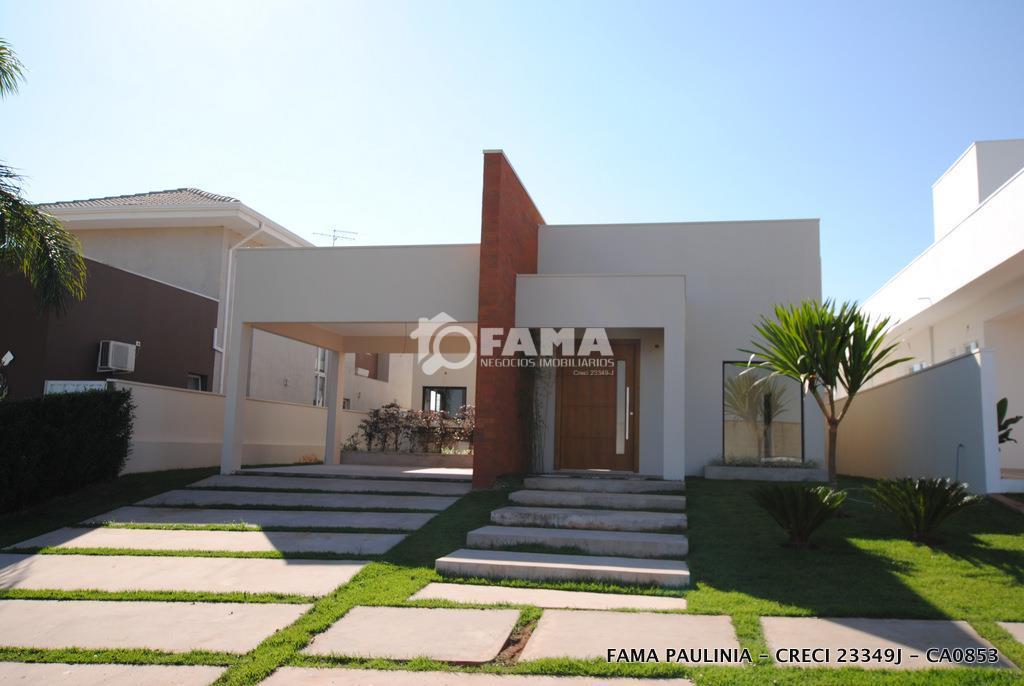Casa residencial à venda, Condomínio Terras do Cancioneiro, Paulínia - CA0853.