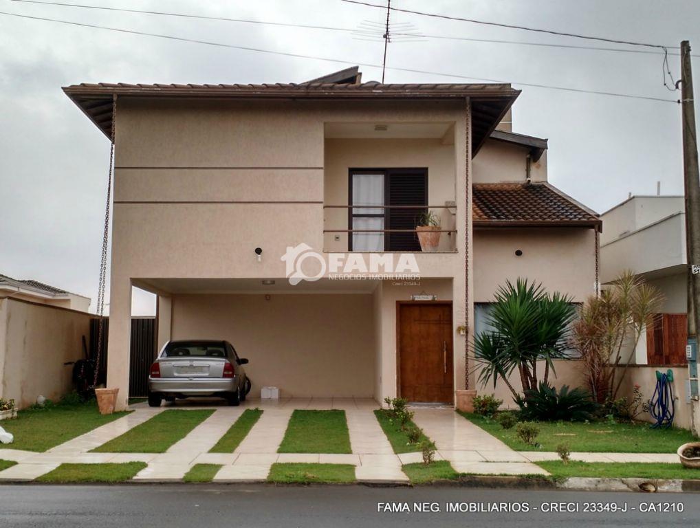 Casa residencial à venda, Condomínio Terras do fontanário, Paulínia - CA1210.