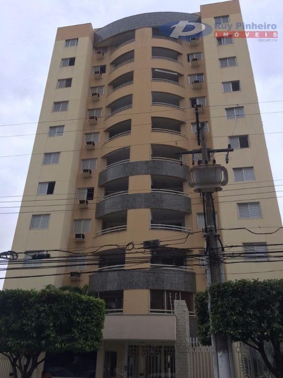 Apartamento residencial à venda, Quilombo, Cuiabá.