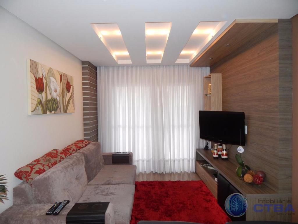 Apartamento 3 quartos mobiliado à venda, Centro, São José dos Pinhais.